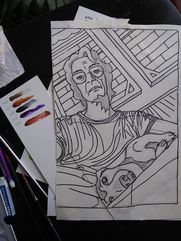 Ria Unson Drawing