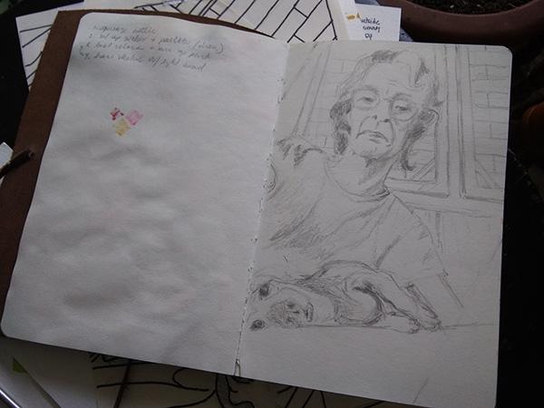 Ria Unson Sketch