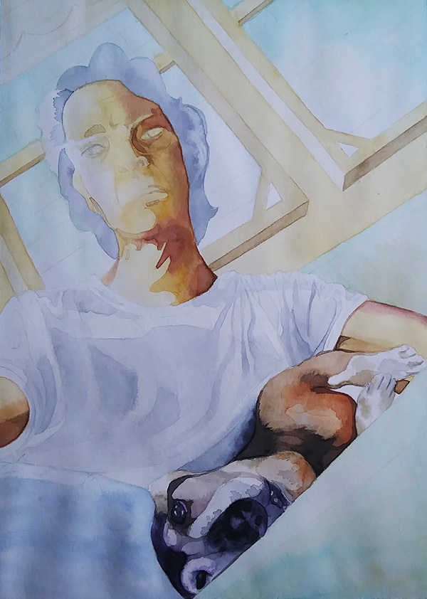 Ria Unson watercolor study