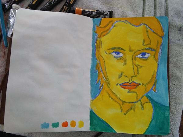 greta gerwig sketch