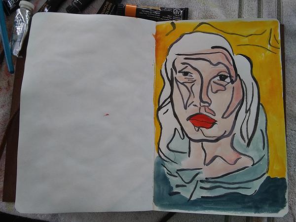 semi geesture portrait