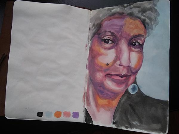 Jessica Hagedorn portrait study