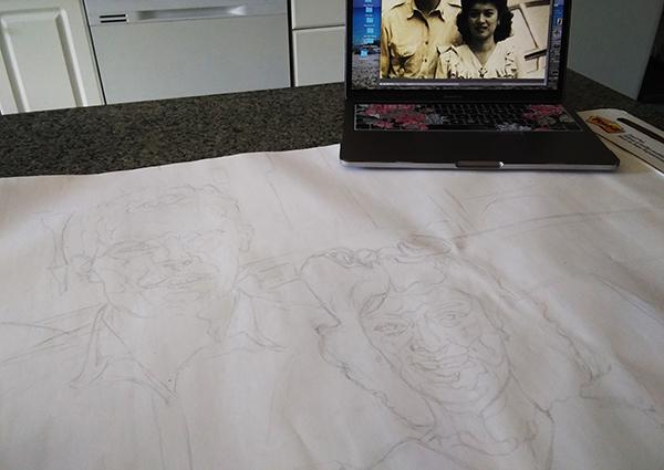 large sketch